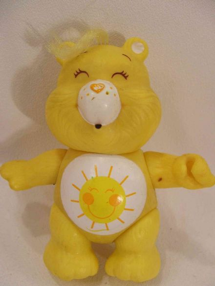 VINTAGE FUNSHINE CARE BEARS POSEABLE